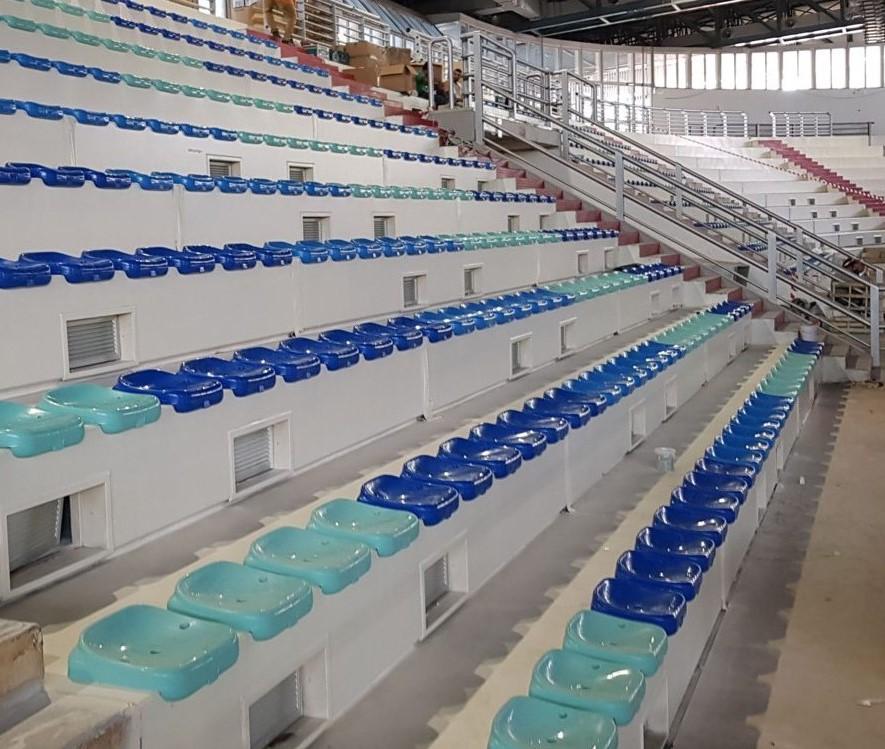 sedute sportive tribune palazzetto