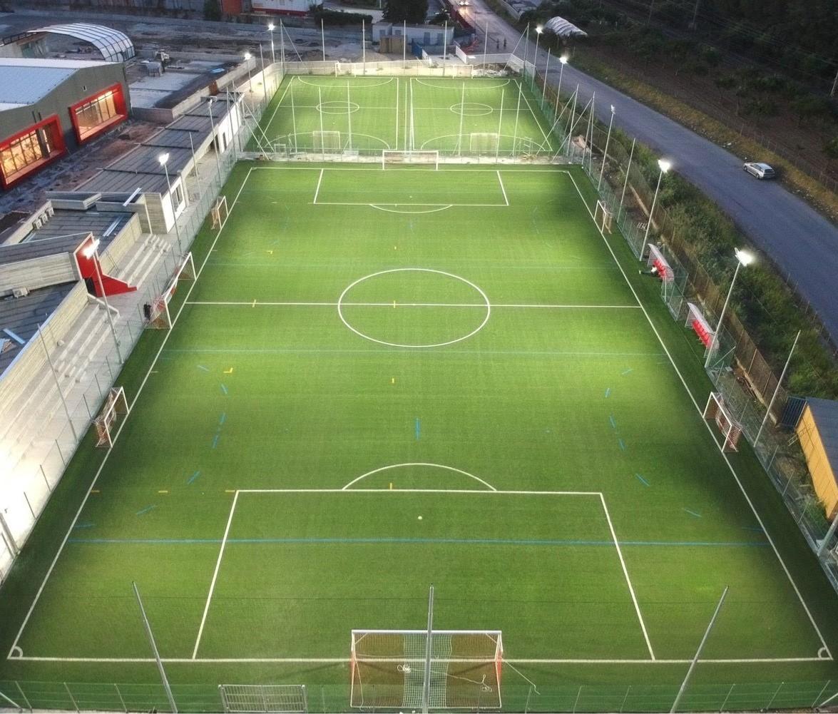 campi di calcio e calcetto esterni La Fabbrica Salerno