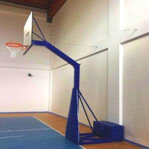 Impianto basket trasportabile